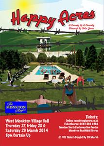Happy Acres - A4 Poster Web